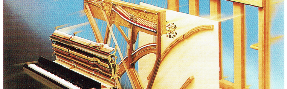 Découpe piano droit structure